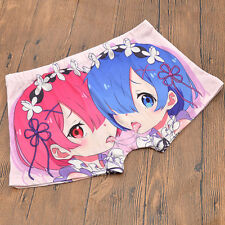 Anime Re: Zero Men's UnderPants Boxers Ram Rem Underwear Cosplay Cartoon
