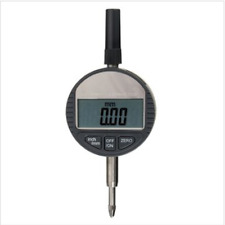 Portable Digital Dial Indicator 0.01mm 0.0005inch Range 0-25.4mm 1inch Gauge