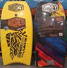 "MOREY MACH 9TR BOOGIE BODY BOARD 42.5"" with Leash Surfing Beach MACH 9TRX NEW"