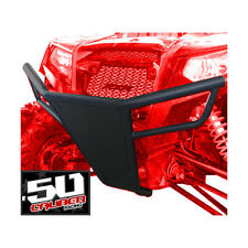 Polaris RZR Front Bumper & skid plate LED tabs 570 800 XP 900 RZR4 Stealth Black