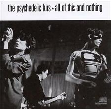 All of This and Nothing The Psychedelic Furs CD Best of Greatest Hits 1 CENT CD