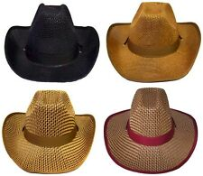 Cowboy - Cowgirl Rodeo Western Hats  Wholesale 4Pc Lot  (  ECOWBG31#)