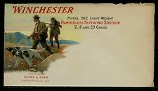 WINCHESTER MODEL 1912 HAMMERLESS REPEATING SHOTGUN FINE MULTI-COLOR COVER BQ1525
