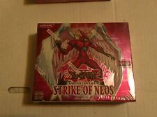 YuGiOh Strike of Neos 1st ED. Factory sealed booster box