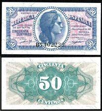 Año 1937. 50 céntimos. Ministerio de Hacienda. Cibeles. Serie B 7402222.
