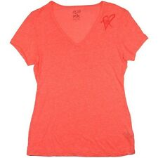 $26 Fox Racing Women's Limiter V-neck Tee Atomic Punch Size XS