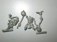 WARHAMMER Fantasy ORCHI e GOBLIN NOTTE DI GOBLIN fanatici x2 metallo fuori catalogo