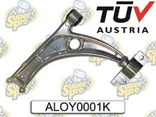 SUPER PRO Front Alloy Lower Arms + Anti-Lift & Caster Kit for Audi VW Skoda Seat