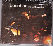 DOUBLE CD DIGIPACK 24T BENABAR LIVE AU GRAND REX 2004 NEUF SCELLE