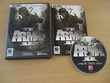 ARMA II Pc DVD Rom 2 FAST 1st Class DISPATCH