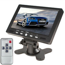 7Inch 2CH 800 x 480 HDMI VGA IN Color TFT LCD Vehicle AV Car Rear View Monitor
