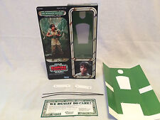 "custom Vintage Star wars esb 12"" luke skywalker dagobah box + inserts"