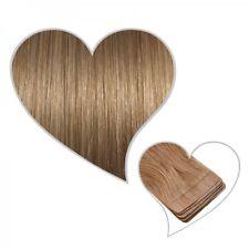 10 Tape-On-Extensions karamellblond#14 35 cm Echthaar Haarverlängerung Skin Weft