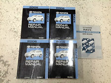 2006 TOYOTA RAV4 RAV 4 Service Repair Shop Manual Set W ELECTRICAL WIRING MANUAL