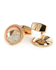 TATEOSSIAN Diamond Dust Rosegold Cufflinks - Authorized Retailer