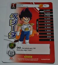 DragonBall Z CCG Vegeta P1 Promo Card - SDCC 2014 Comic Con Exclusive