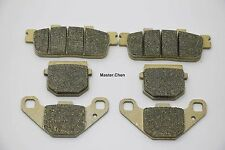 Front Rear Brake Pads For Brakes Daelim ET250 ET 250 Quad 2005 2006 2007 2008