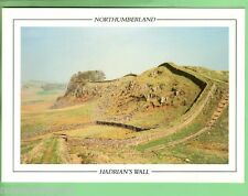 #D62. LARGE UNUSED GREETING CARD, NOTHUMBERLAND & HADRIAN'S WALL