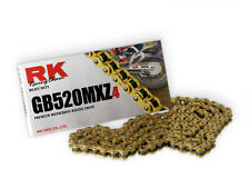 RK HEAVY DUTY CHAIN 520 120 LINK GB520MXZ GOLD Motocross Enduro