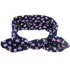 Baby Girl Rabbit Flower Ears Hair Band Turban Elastic Cloth Bowknot Headband HOT