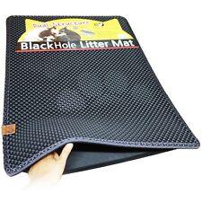 Blackhole Cat Litter Mat Large 30x23 - Innovative Dual-Structure Litter Box Mat