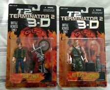 Terminator 2 3D T2 Action Figure JOHN CONNOR & HOT BLAST KENNER 1997