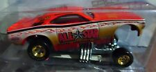 HOT WHEELS 70 1970 DODGE CHALLENGER F/C ALL STAR DODGE DRAG STRIP DEMONS CAR