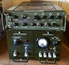PRC-74 B HF Backpack Radio Battery Box Base Station Power Supply Special Forces