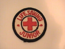 American Red Cross Junior Life Saving Patch