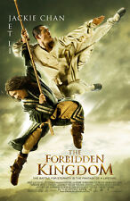 THE FORBIDDEN KINGDOM MOVIE POSTER 2 Sided ORIGINAL FINAL 27x40 JACKIE CHAN