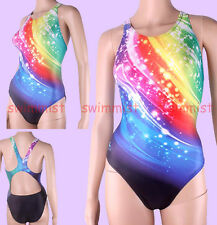 NWT YINGFA 930 COMPETITION TRAINING RACING SWIMSUIT M US GIRLS 12-14 MISS 4 NEW!