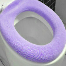 Showing Up Toilet Washable Seat Cover Soft Pad Lycra Use In O-shaped Flush AU FT