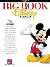 The Big Book of Disney Songs - Flute (Book Only) by Hal Leonard Corp (Paperback)