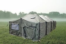 LARGE MGPTS MILITARY TENT COMPLETE W FRAME 54 X18 X12 COST $8880 BUY IT NOW $2 K