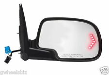 03-07 CHEVY/GMC POWER HEATED TURN SIGNAL VIEW SIDE MIRROR PASSENGER/ RIGHT SIDE
