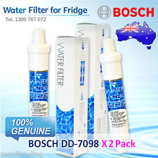 2 Pack X Bosch EXTERNAL FRIDGE FILTER  FOR KAN58A40AU/03 and More Others  DD7098