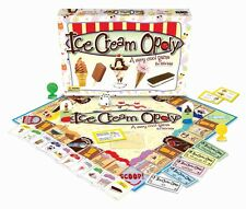 Ice Cream-Opoly (IceCreamOpoly) A Little Kid's Monopoly game NEW and SEALED