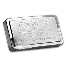 10 oz APMEX Stackable Silver Bar .999 Fine - SKU #83232