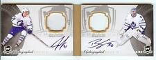 2011-12 THE CUP ROOKIE BOOKMARKS GARDINER / BEN SCRIVENS DUAL AUTO PATCH 12/25