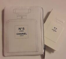 New 2016 Lovely small cosmetic bag + sample Chanel n°5 l'eau 2ml Limited Edition