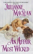 Julianne Maclean- *** An Affair Most Wicked***    Regency Romance