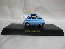1:64 Kyosho BMW Isetta 250 Blue Diecast Model Car