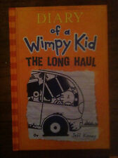 Diary of a Wimpy Kid: The Long Haul by Jeff Kinney (2014, Hardcover) signed