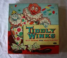 VINTAGE 1958 TIDDLY WINKS GAME BY WHITMAN PUBLISHING CO.