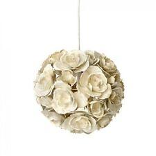 Modern Unique Rose Metal Lightshade Light Pendant lampshade  Cream