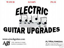 Custom Guitar Lessons - Electric Guitar Maintenance and Upgrades