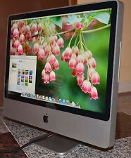 "EXCELLENT APPLE IMAC DESKTOP 24"" HD LCD CORE 2 DUO 2.8GHZ 500GB  DVDRW WIFI 4GB"