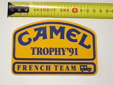 AUTOCOLLANT CAMEL TROPHY 1991 LAND ROVER