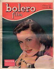 rivista fotoromanzo - BOLERO - Anno 1951 Numero 231 SHEILA RYAN