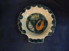 Kleiner Teller Seafood Jersey Pottery Handpainted - Fish Plate